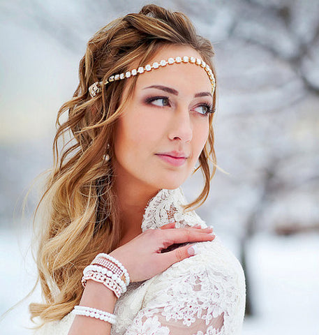 "Limn & Lovely ""Helena"" Crystal Halo"