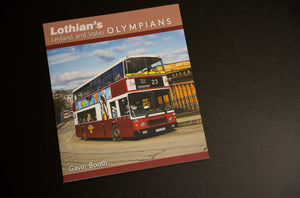 Book - Lothian's Leyland and Volvo Olympians - NEW
