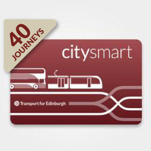 Citysmart  - pre-loaded with 40 Adult single journeys