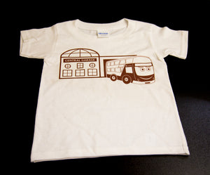 NEW  LOTHIAN BUSTER  AND GARAGE T-SHIRT - CHILD - Limited Stock