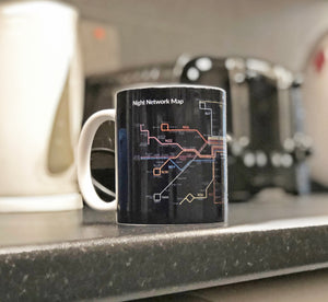 Lothian Night Network Mug