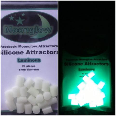 Lumi green 6mm attractors