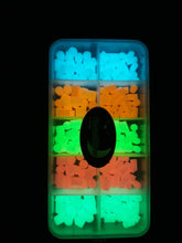 Load image into Gallery viewer, Moonglow silicone luminous attractors box - moonglowfishing