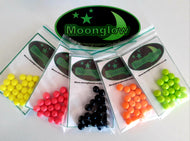 MOONGLOW - round rig beads