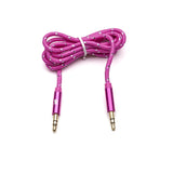 Pink Everlasting Auxiliary Cord