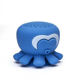 """Aretha"" Blue Octopus Shower Speaker"
