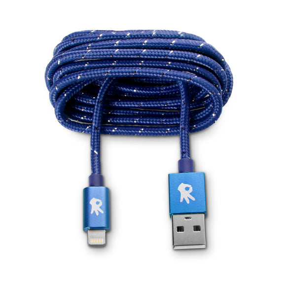 Lightning ( 8 pin ) Blue Everlasting Nylon Cable