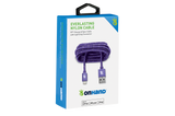 Lightning ( 8 pin ) Purple Everlasting Nylon Cable