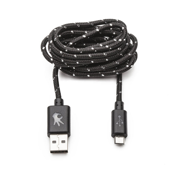 Micro USB Black Everlasting Nylon Cable