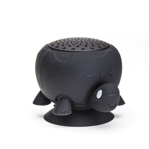 """Kesha"" Black Turtle Shower Speaker"