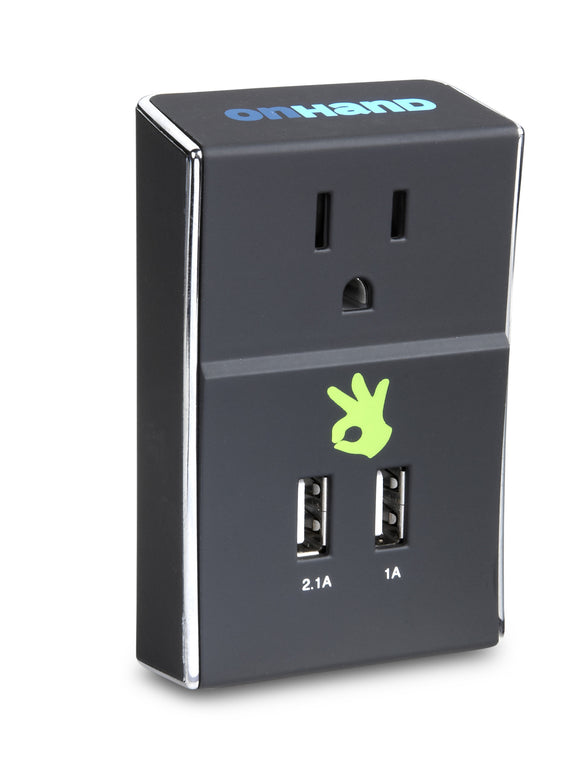 Dual USB Wall Outlet