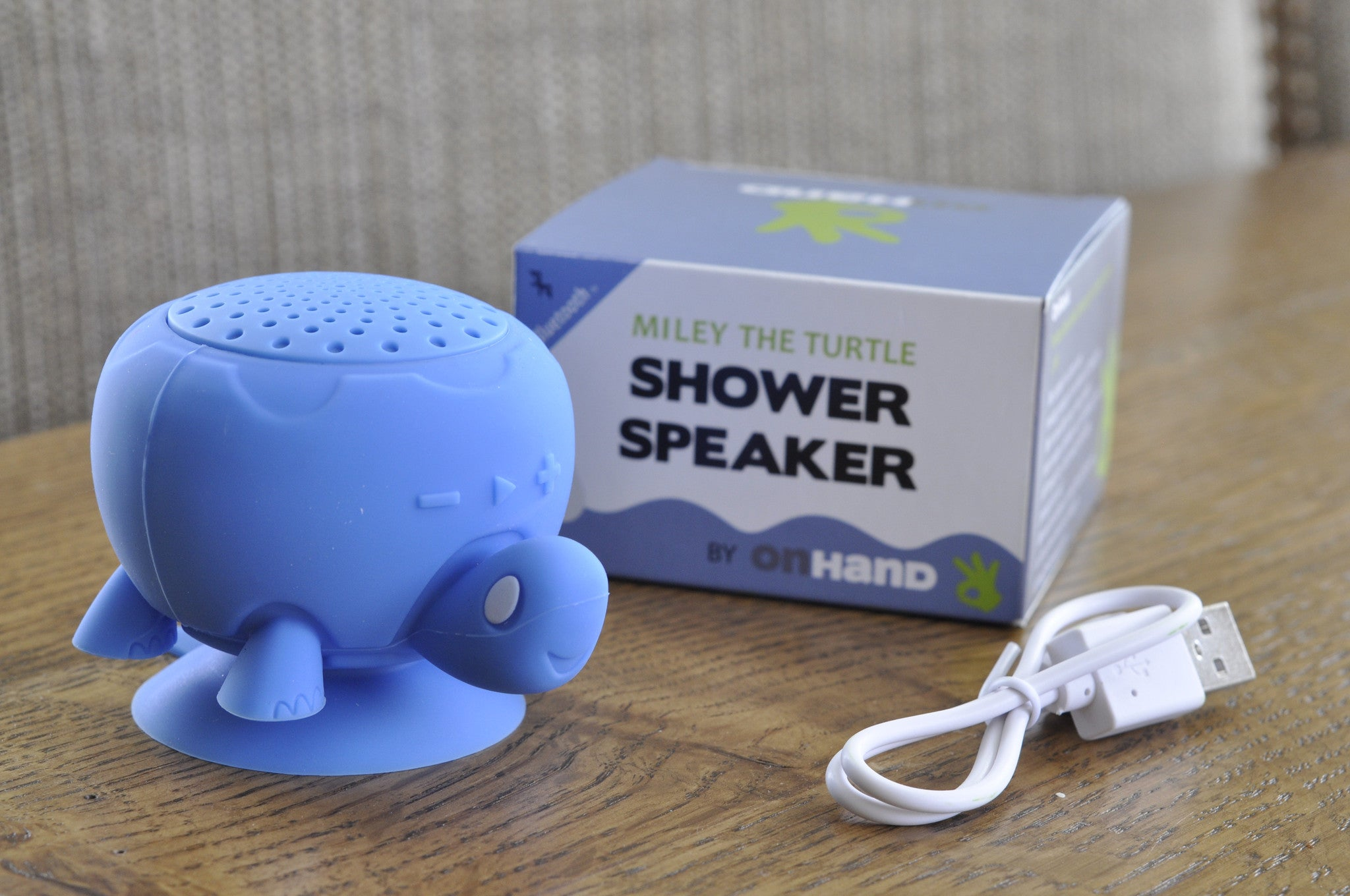 Miley Blue Turtle Shower Speaker