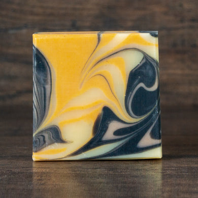 Ginger Lime Soap with Charcoal & Clay