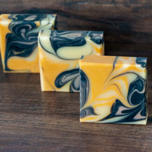 Load image into Gallery viewer, Ginger Lime Soap with Charcoal & Clay