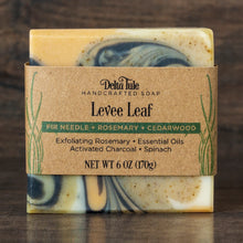 Levee Leaf // Rosemary, Fir Needle & Cedarwood + Charcoal & Clay Soap
