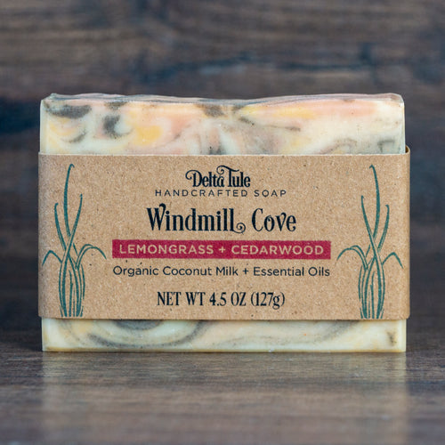 Windmill Cove // Lemongrass & Cedarwood Coconut Milk & Clay Soap