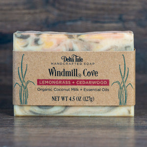 Windmill Cove // Cedar Lemongrass Coconut Milk Soap
