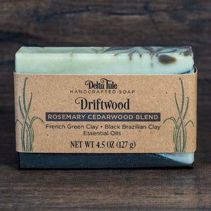 Driftwood // Rosemary Cedarwood Fir Needle Blend Double Butter Soap