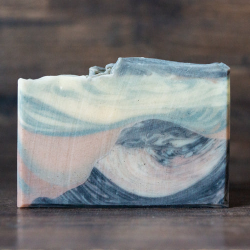 Citrus Pine Charcoal & Clay Soap // Half Dome