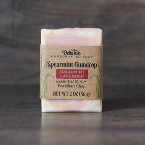 Spearmint Gumdrop Half-Bar Soap