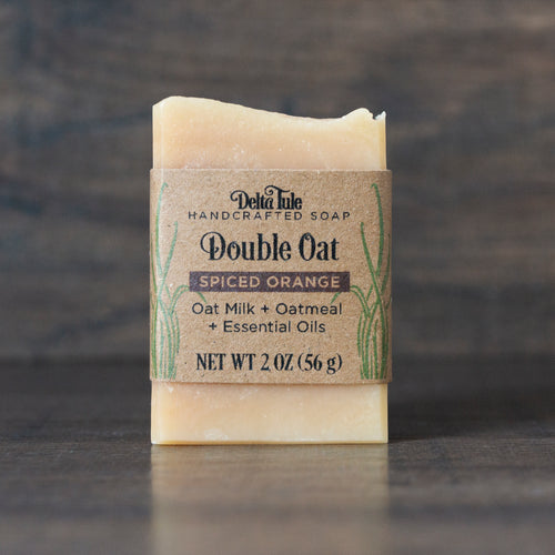 Oat Milk & Oatmeal Half-Bar Soap // Double Oat