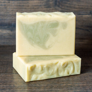 Fresh Avocado Spearmint Soap with French Green Clay