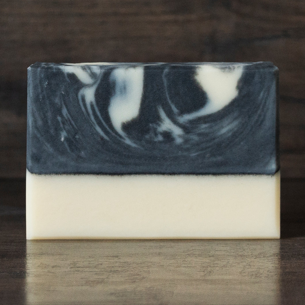 Misty Shore // Tea Tree Mint Charcoal & Coconut Milk Soap
