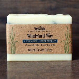 Windward Way // Lavender Mint Coconut Milk Soap