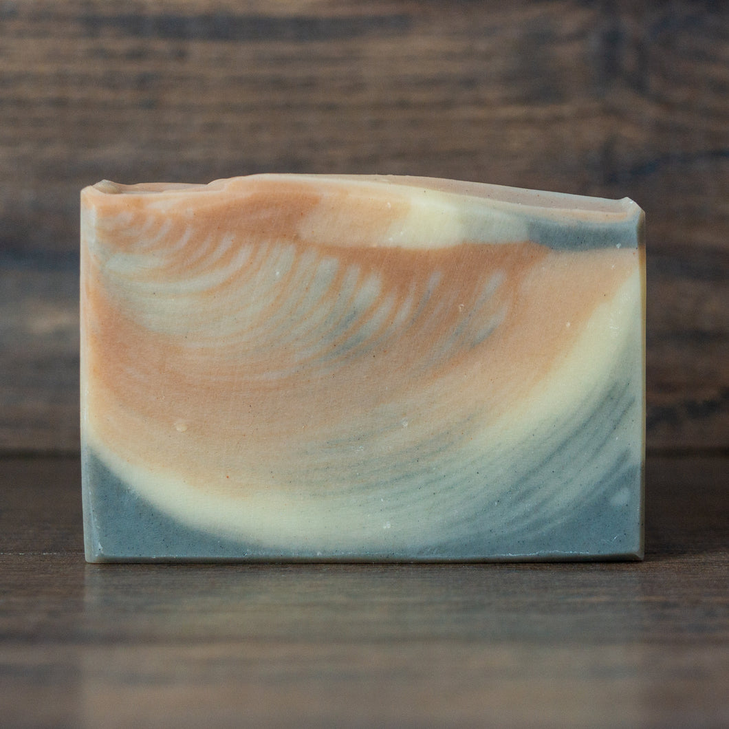 Lost Isle // Pepper, Bay Leaf & Lime Soap with Moroccan Red Clay