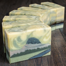 Load image into Gallery viewer, Half Dome Soap // Pine Tangerine Clove