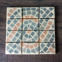 Load image into Gallery viewer, Mediterranean Tile Soap // Citrus & Peppercorn