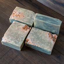 Load image into Gallery viewer, Low Tide // Rosemary Cedarwood Salt Crystal Soap