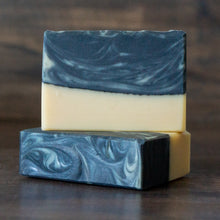 Load image into Gallery viewer, Misty Shore // Tea Tree Mint Charcoal & Coconut Milk Soap