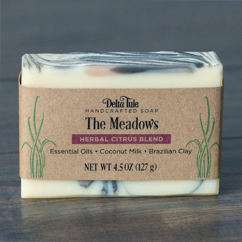 The Meadows // Herbal Citrus Coconut Milk Charcoal & Clay Soap