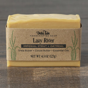 Stout Beer Soap with Oatmeal // Lazy River