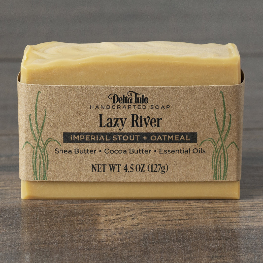 Lazy River // Imperial Stout & Oatmeal Double Butter Soap