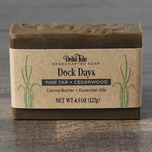 Load image into Gallery viewer, Pine Tar Soap // Dock Days