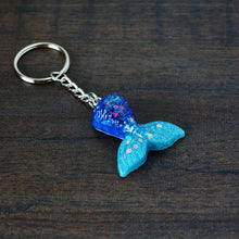 Load image into Gallery viewer, Mini Mermaid Tail Keychain