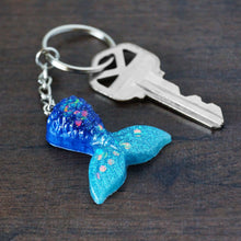 Mini Mermaid Tail Keychain
