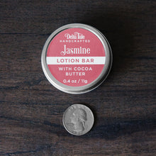 Jasmine & Cocoa Butter Solid Lotion Bar with Rose Clay