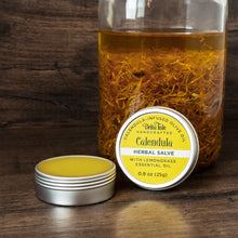 Load image into Gallery viewer, Lemongrass Calendula-Infused Herbal Salve
