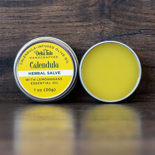 Calendula-Infused Herbal Salve