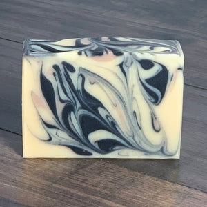 Herbal Citrus Coconut Milk Soap with Charcoal & Clay // The Meadows