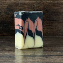 Load image into Gallery viewer, Black Pearl // Black Pepper & Grapefruit Half-Bar Soap