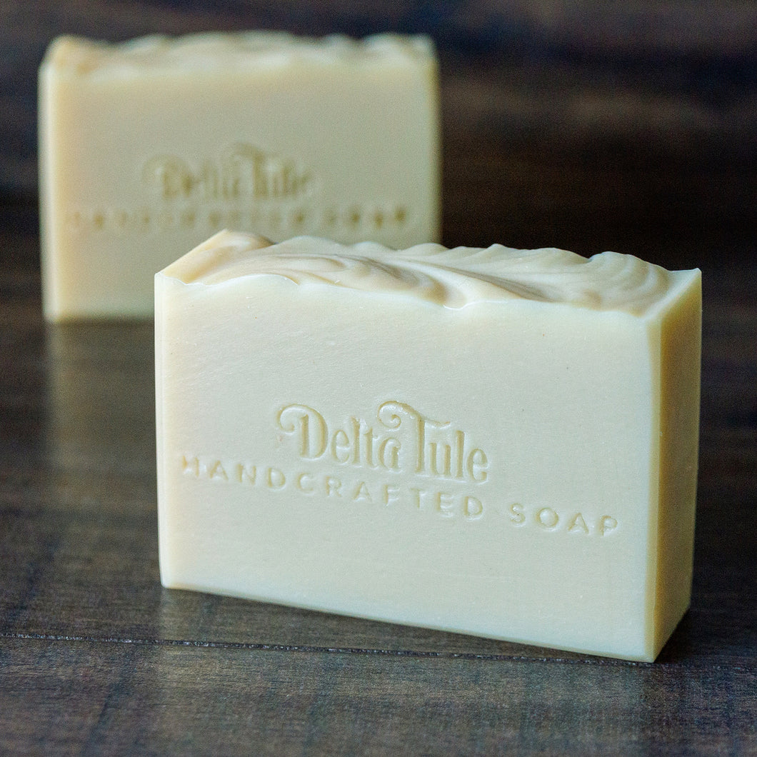 Nude Beach // Unscented Coconut Milk Double Butter Soap