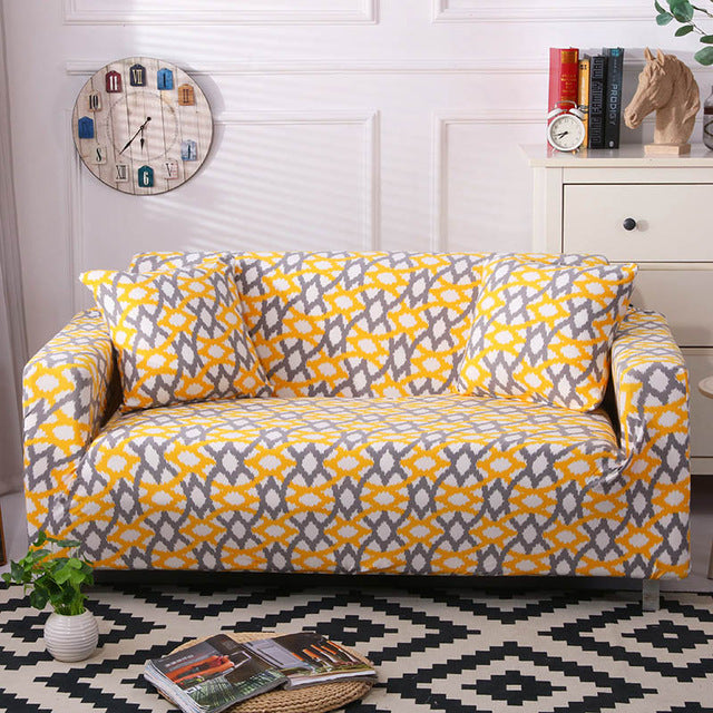 Astonishing Elastic Sofa Stretch Stretchable Covers Patterns Homesofacover Set Cotton Universal Sofa Covers For Living Room Armchair Corner Couch Cover Corner Pabps2019 Chair Design Images Pabps2019Com