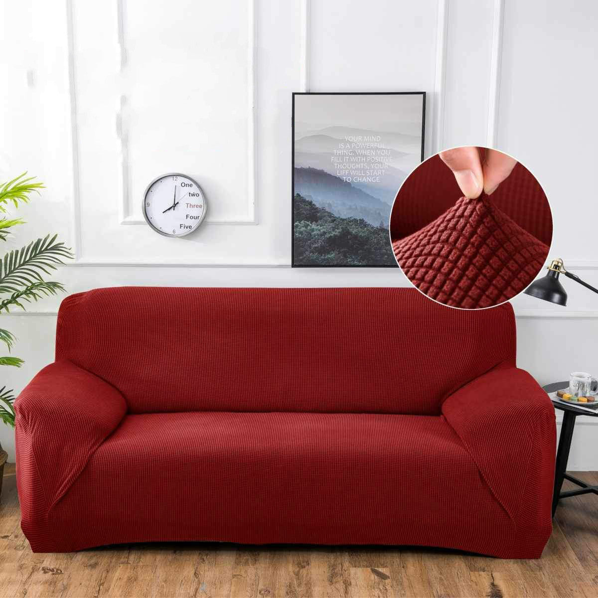 Sofa Slipover High Quality 1/2/3/4 Seater NEW Thickened Elastic Stretch Slipcovers sofa cover Couch Cover Sectional L Shaped Slipcover Armchair Cover