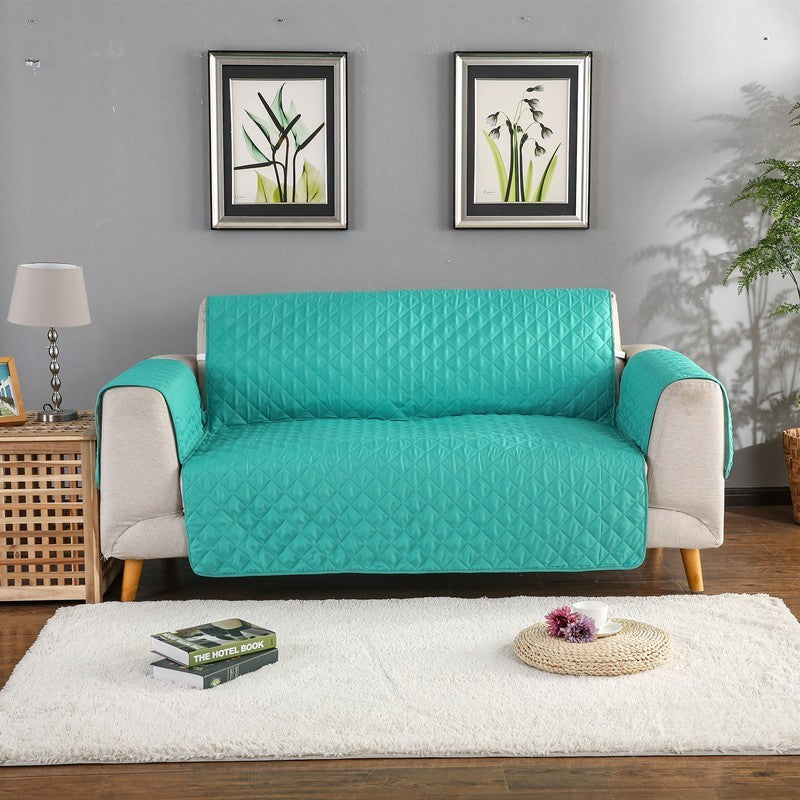 Sofa Couch Cover Chair Throw Pet Dog Kids Mat Furniture Protector Sofa Pet Dog Kids Cover Reversible Washable Removable Armrest Slipcovers 1/2/3 Seat - HomeSofaCover