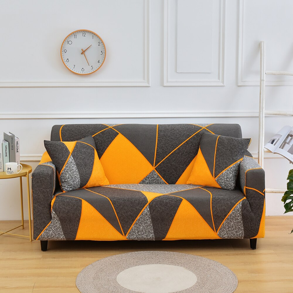 Elastic Sofa Cover Stretch Sectional Corner Couch Cover Universal Cover 1/2/3/4 Slipcover,L Shaped Need Buy 2pcs L Shape  Corner Sofa Cover