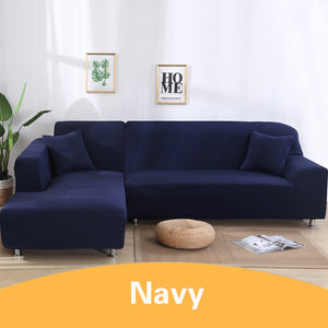Elastic Stretch Sofa Cover 1/2/3/4 Seater Cheap Slipcover Loveseat Couch Covers Universal Living room Sectional L Shaped Slipcover Armchair Cover